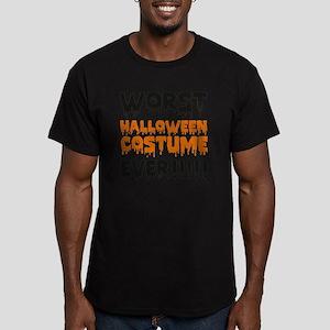 worstHalloween1E Men's Fitted T-Shirt (dark)