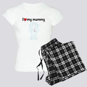 I Love My Mummy Women's Light Pajamas