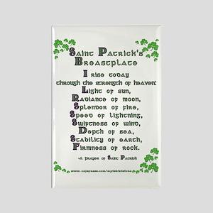 Saint Patrick's Breastplate Rectangle Magnet
