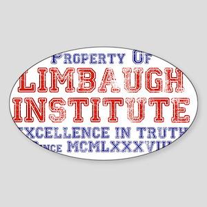 Property of Limbaugh Institute Sticker (Oval)