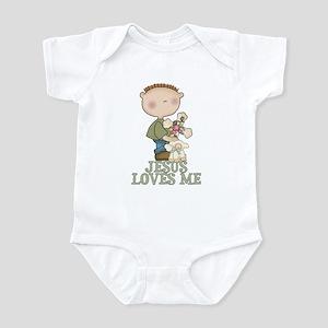 Jesus Loves Me (Boy) Infant Bodysuit