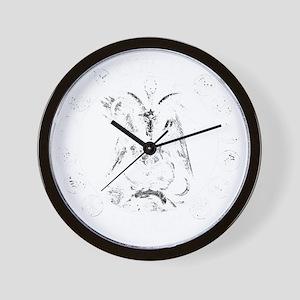 COVEN NEVOC Goat LOGO Wall Clock