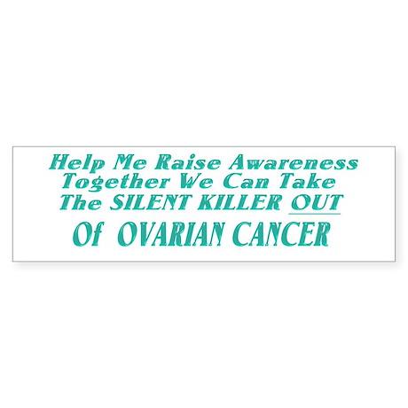 Ovarian Cancer Awareness Bumper Sticker