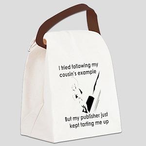 Crashed Rocket Canvas Lunch Bag