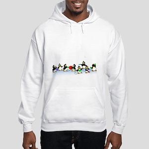 Penguin Band Hooded Sweatshirt