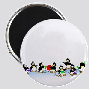 Penguin Band Magnet
