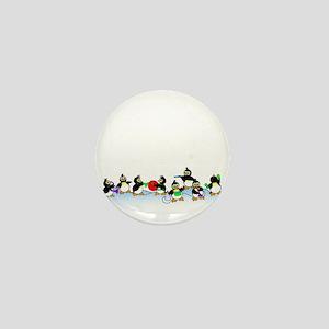 Penguin Band Mini Button