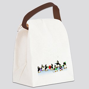 Penguin Band Canvas Lunch Bag