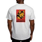 Obey The Malamute! Ash Grey T-Shirt