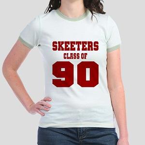 MHS Class Of 1990 Jr. Ringer T-Shirt