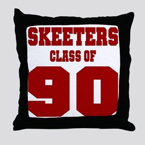 MHS Class Of 1990 Throw Pillow
