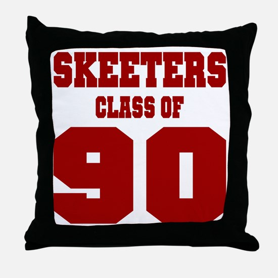 MHS Class Of 1990 Throw Pillow