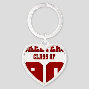 MHS Class Of 1990 Heart Keychain