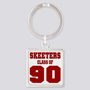 MHS Class Of 1990 Square Keychain