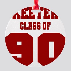 MHS Class Of 1990 Round Ornament
