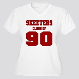 MHS Class Of 1990 Women's Plus Size V-Neck T-Shirt
