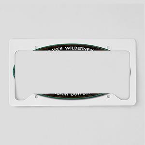 Brook Trout License Plate Holder