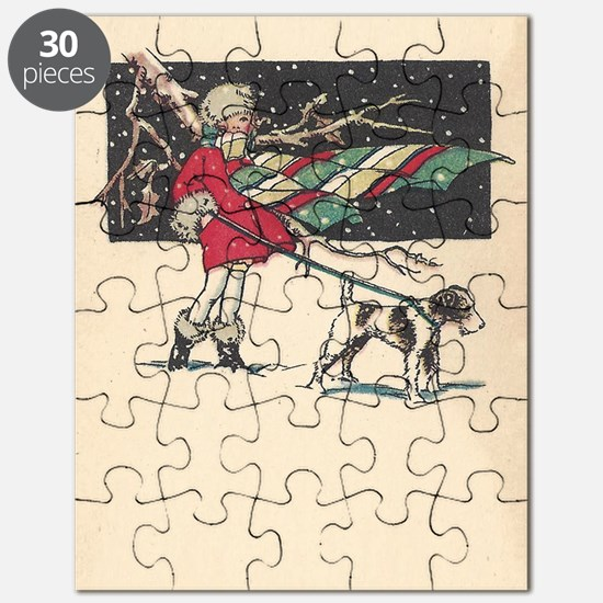 fox terrier holiday Puzzle