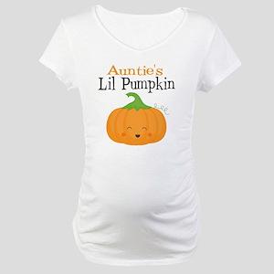 635d36996ddfa Aunties Little Pumpkin Maternity T-Shirt