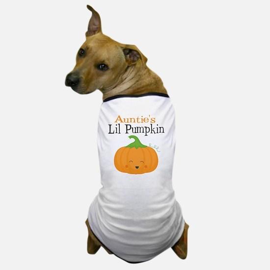 Aunties Little Pumpkin Dog T-Shirt