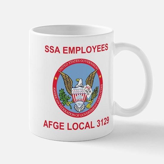 AFGE Coffee Cup 2 For AFGE Local 3129