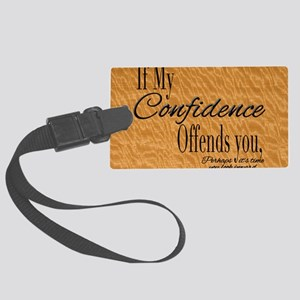 ConfidenceLGtray Large Luggage Tag
