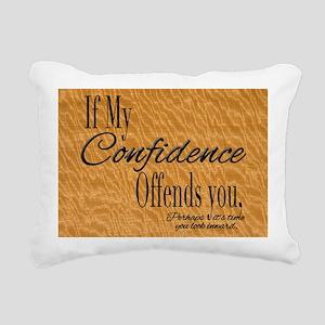 ConfidenceLGtray Rectangular Canvas Pillow