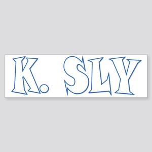 K Sly Sticker (Bumper)