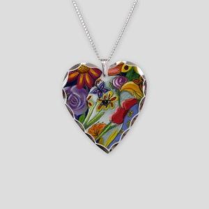 Flora Necklace Heart Charm