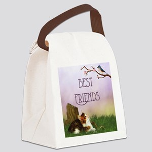 bf__shower_curtain Canvas Lunch Bag