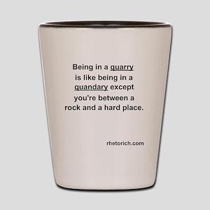 Quarry Shot Glass
