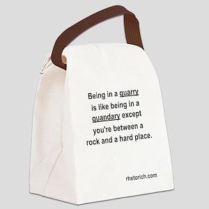 Quarry Canvas Lunch Bag