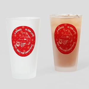 MAZDA BONGO IS FOR CHRISTMAS Drinking Glass