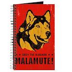 Obey The Alaskan Malamute! Journal