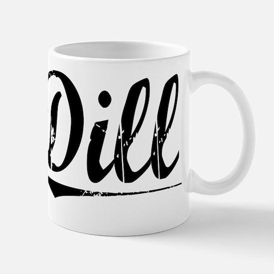 Dill, Vintage Mug