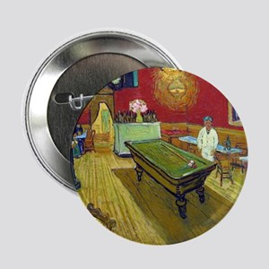 "Vincent Van Gogh Night Cafe 2.25"" Button"