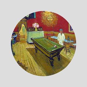 "Vincent Van Gogh Night Cafe 3.5"" Button"