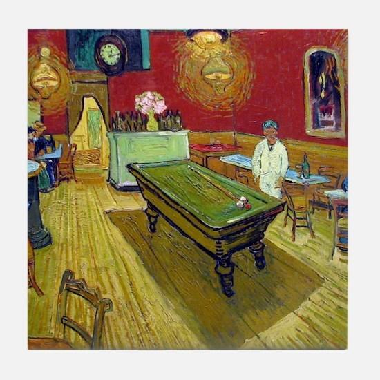 Vincent Van Gogh Night Cafe Tile Coaster