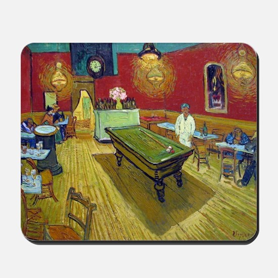 Vincent Van Gogh Night Cafe Mousepad