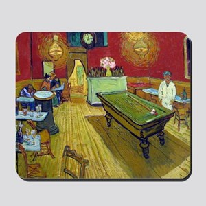Vincent Van Gogh Night Cafe Mousepad
