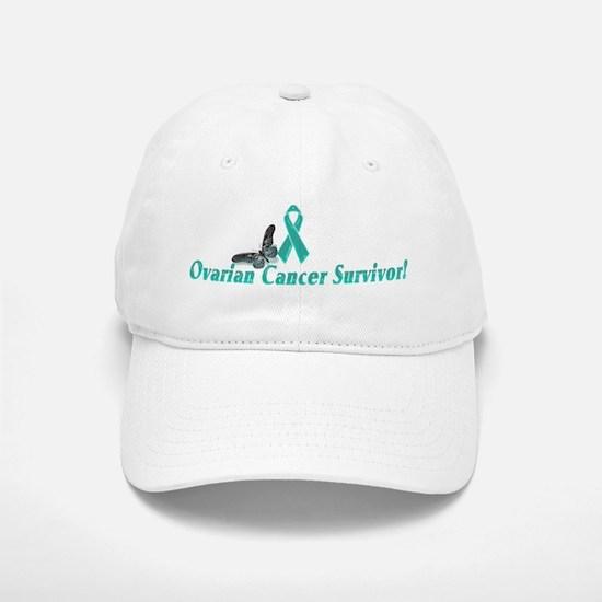Ovarian Cancer Survivor baseball Baseball Baseball Cap
