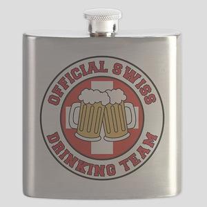 Swiss Drinking Team Flask