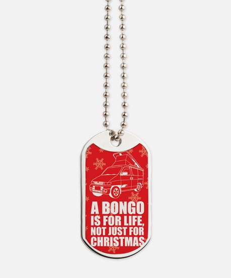 MAZDA BONGO IS FOR CHRISTMAS MAGNET Dog Tags