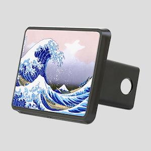 LAPTOP -Gr8 Wave-Hokusai Rectangular Hitch Cover