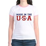 MADE IN THE USA Jr. Ringer T-Shirt