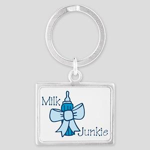 Milk Junkie Landscape Keychain
