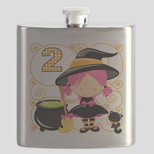 Girls Halloween 2 Flask