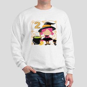 Girls Halloween 2 Sweatshirt