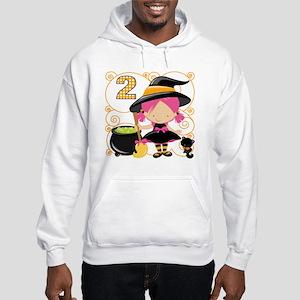 Girls Halloween 2 Hooded Sweatshirt