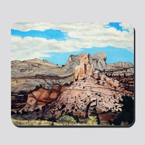 Peek-a-boo Arch at Capitol Reef National Mousepad